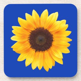 Amazing Autumn Beauty Sunflower Coaster