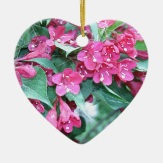 Amazing-Azalea Ceramic Ornament