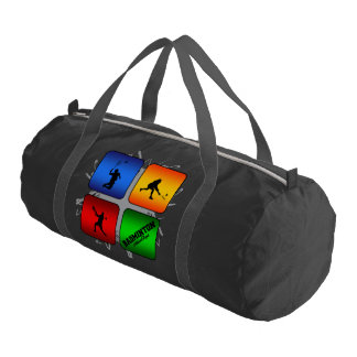 Amazing Badminton Urban Style Duffle Bag