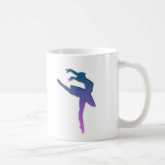 Amazing Ballerina Graphic Coffee Mug