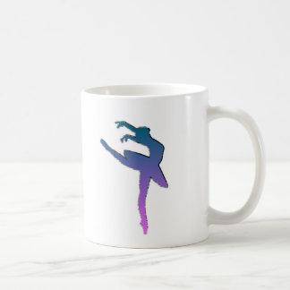 Amazing Ballerina Graphic Classic White Coffee Mug