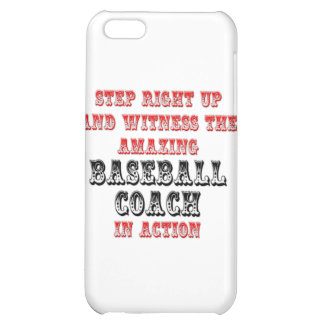 Amazing Baseball Coach In Action iPhone 5C Cover