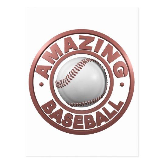 Amazing Baseball Postcard
