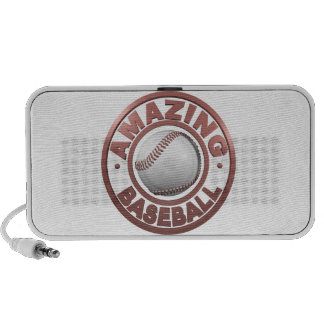 Amazing Baseball Laptop Speakers