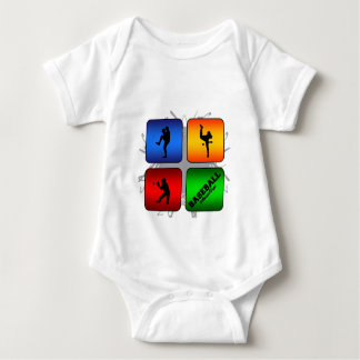 Amazing Baseball Urban Style Baby Bodysuit