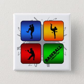 Amazing Baseball Urban Style Pinback Button