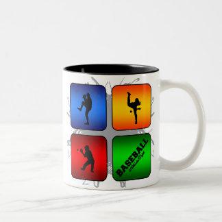 Amazing Baseball Urban Style Two-Tone Coffee Mug