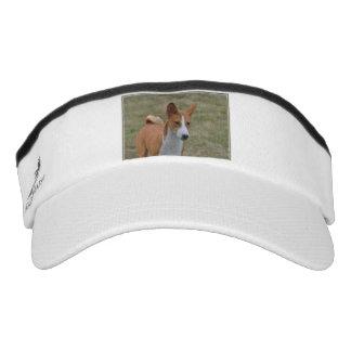 Amazing Basenji Dog Headsweats Visor