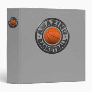 Amazing Basketball 3 Ring Binder