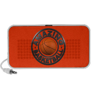 Amazing Basketball iPod Speakers