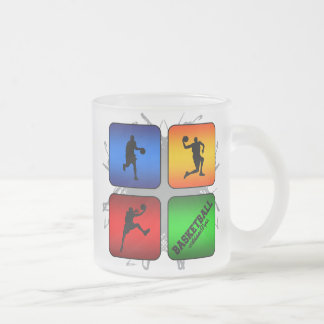 Amazing Basketball Urban Style Frosted Glass Coffee Mug