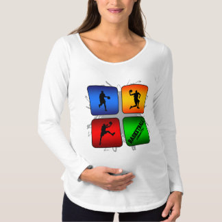 Amazing Basketball Urban Style Maternity T-Shirt
