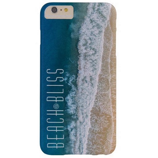 Amazing Beach Bliss Motivation Barely There iPhone 6 Plus Case