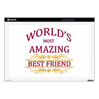 "Amazing Best Friend Skin For 17"" Laptop"