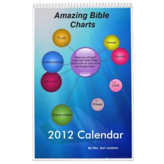 Amazing Bible Charts Calendar