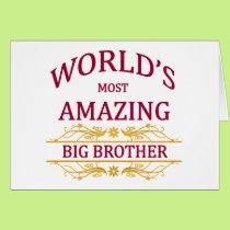 Amazing Big Brother Card