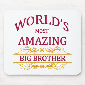 Amazing Big Brother Mouse Pad
