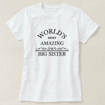 Amazing Big Sister T-Shirt