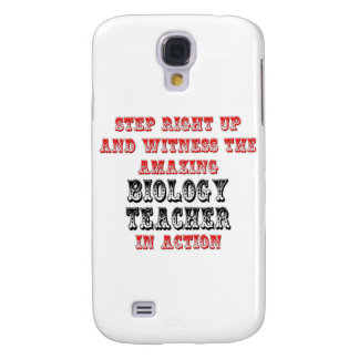 Amazing Biology Teacher In Action Galaxy S4 Cases