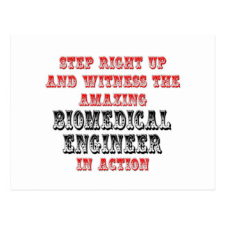 Amazing Biomedical Engineer In Action Postcard