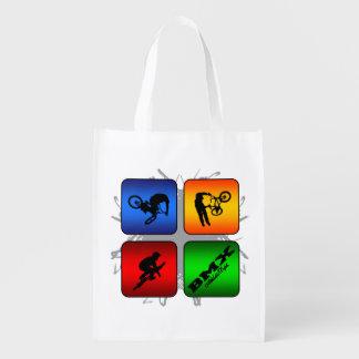 Amazing BMX Urban Style Grocery Bag
