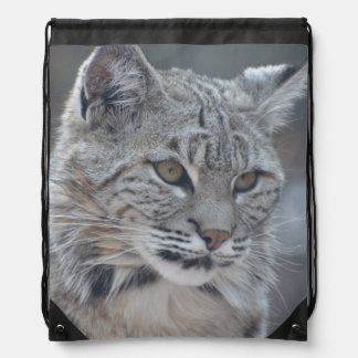 Amazing Bobcat Drawstring Bag