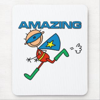Amazing Boy Hero Mouse Pad