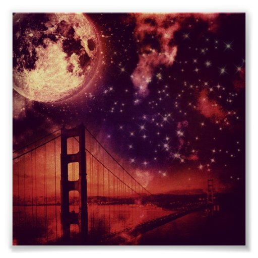 amazing bridge poster