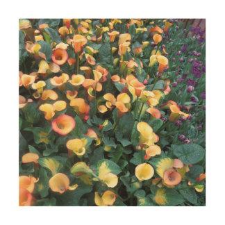 Amazing Butterfly Garden bouquet Flowers deco Wood Wall Art