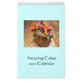 Amazing Cakes 2010 Calendar