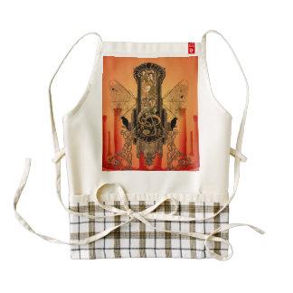 Amazing clef zazzle HEART apron