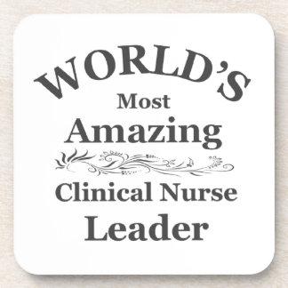 Amazing Clinical Nurse Leader Beverage Coaster