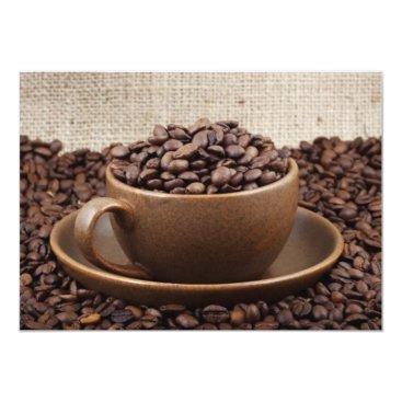 Coffee Themed Amazing coffee card