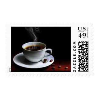 Amazing coffee photo-1 postage stamp