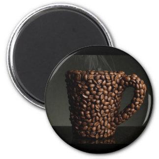 Amazing coffee photo-3 2 inch round magnet