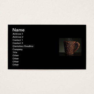 Amazing coffee photo-3 business card