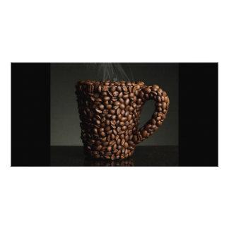 Amazing coffee photo-3 card