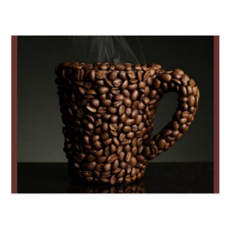 Amazing coffee photo-3 postcard