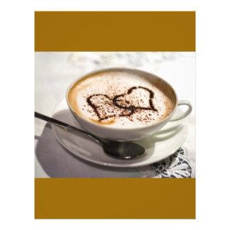 "Amazing coffee photo 8.5"" x 11"" flyer"