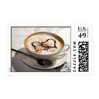 Amazing coffee photo postage