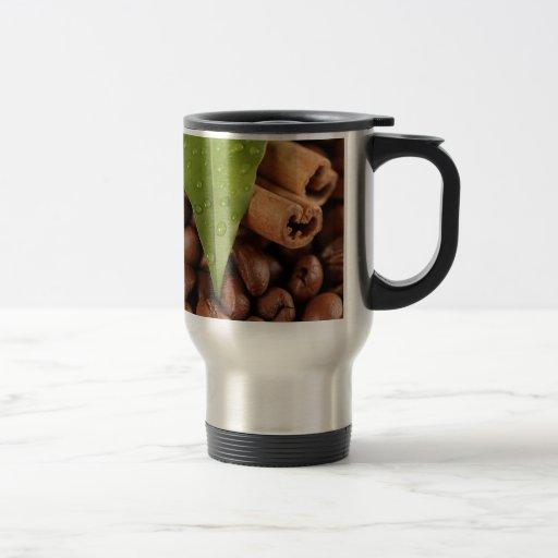 Amazing coffee still life mug