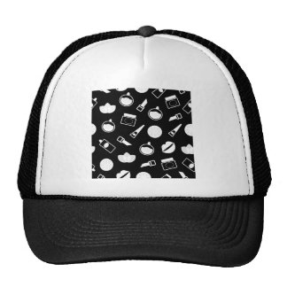 Amazing Cosmetic Icons handdrawn Collection Trucker Hat