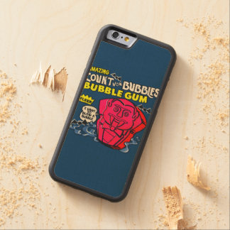 Amazing count von bubbles carved maple iPhone 6 bumper case