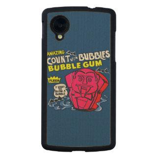 Amazing count von bubbles carved® maple nexus 5 case