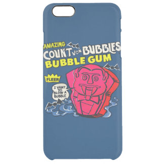 Amazing count von bubbles clear iPhone 6 plus case