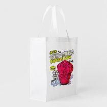 funny, advertising, amazing count von bubbles, vintage, bubble gum, retro, humor, cool, cute, reusable bag, candy, sugar, sweet, fun, bubblegum, vintage advertising, reusable, bag, [[missing key: type_reusableba]] with custom graphic design