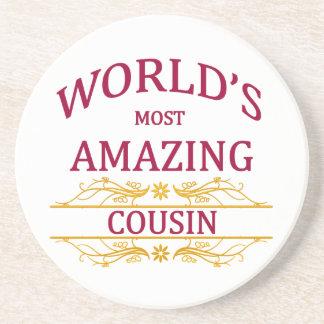 Amazing Cousin Drink Coaster