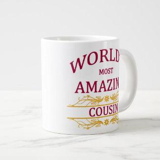 Amazing Cousin Large Coffee Mug