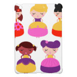 AMAZING CUTE CARTOON PRINCESS SET iPad MINI CASES