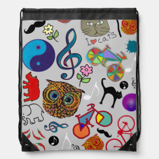 amazing cute girly graphic images cinch bags